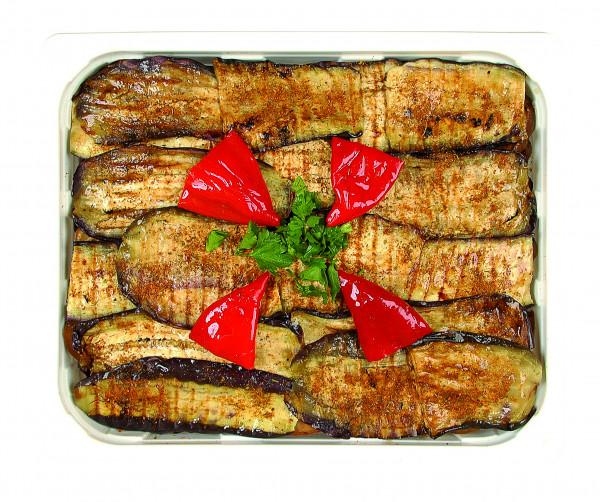 Eingelegte, gegrillte Auberginen lange Scheiben 1,3 kg