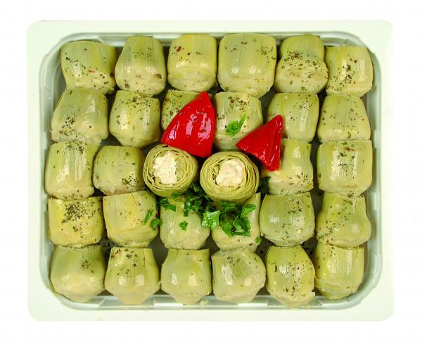 Artischocken gefüllt mit Frischkäse 1,3 kg