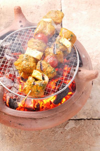 Geflügelbrustspieß Marrakesch