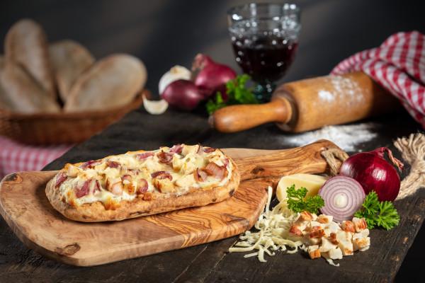 Di Padrone Pizza Panino Poulet & Knoblauch
