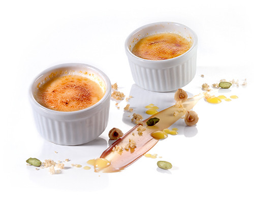 Crème brûlée im Souffléförmchen