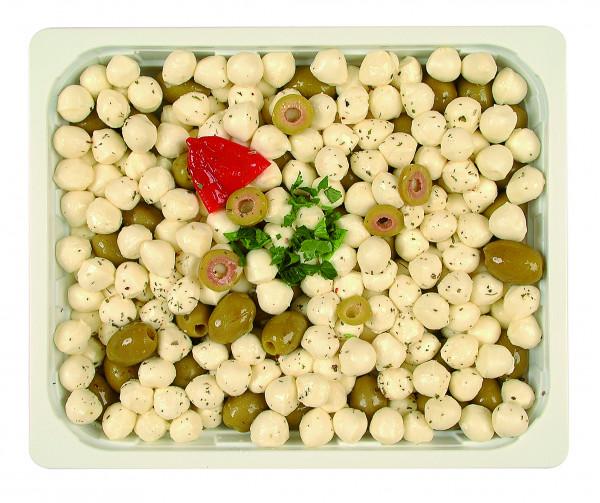 Mozzarella mit Oliven 1,3 kg