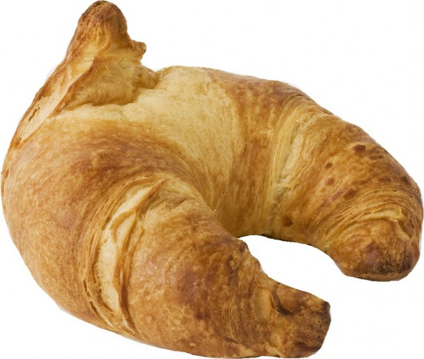 Französisches Butter-Croissant gebogen 17% Butter
