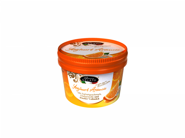 Joghurt Orange 100 ml Becher