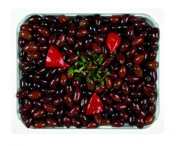 Eingelegte Kalamata Oliven mit Stein 1,3 kg