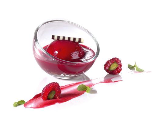 Acerola-Kirsch und Stracciatella im Mini-Bubbleglas