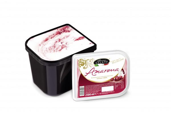 Amarena 2,5 Liter Glaceschale (glatt gestrichen)