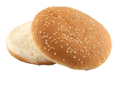 Hamburger-Brötchen-Sesam