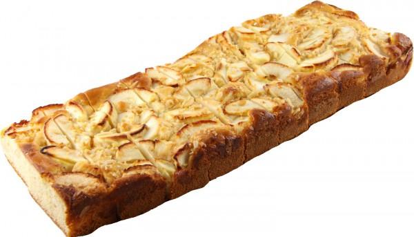 Apfel-Gourmet-Blechkuchen geschnitten