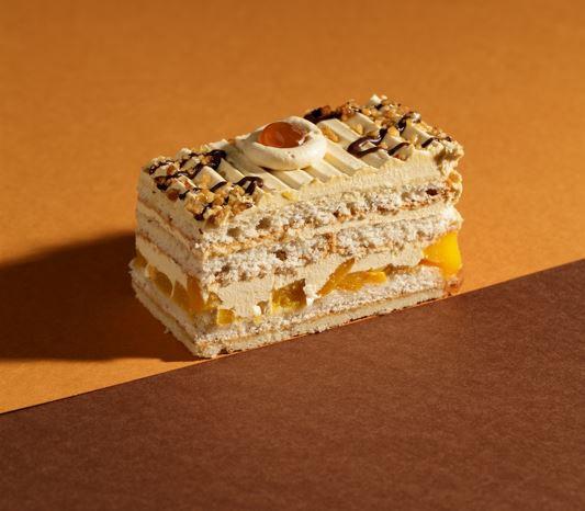 Pfirsich-Toffee-Cremedessert Premium Line