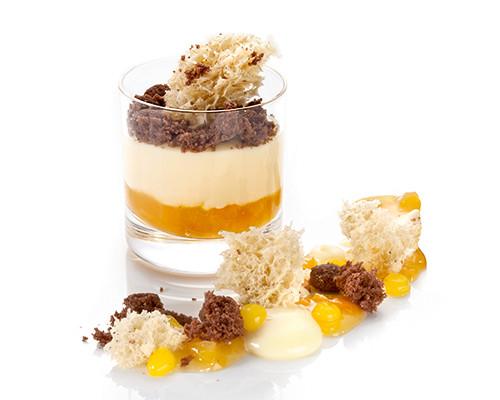 Sweet Vanilla feat. Apricot im Stölzle-Glas