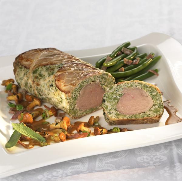 Schweinefilet mit Broccoli