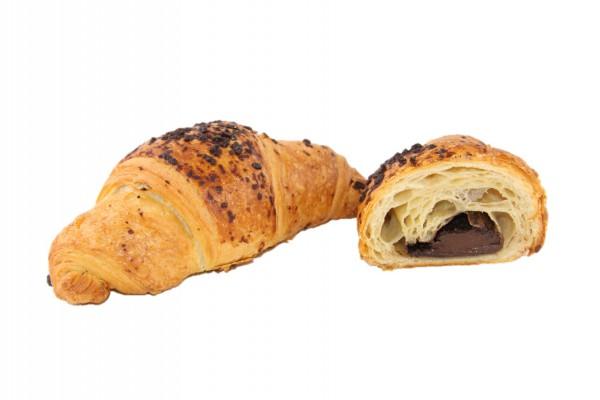 Schoko-Croissant mit Schokostreusel