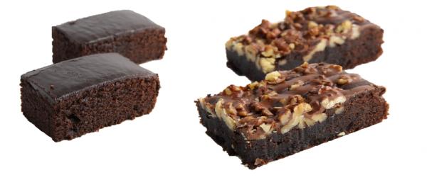 Brownie-Mix-Karton 2-fach sortiert