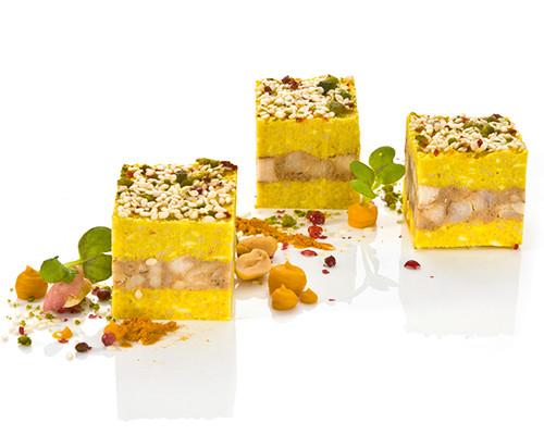 Kokos-Couscous-Würfel