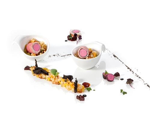 Pastrami-Rote-Bete-Röllchen
