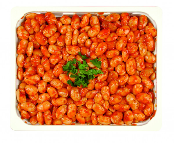 Eingelegte dicke Bohnen Pikant 1,3 kg