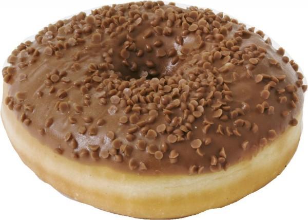 Schoko Donut mit Milka