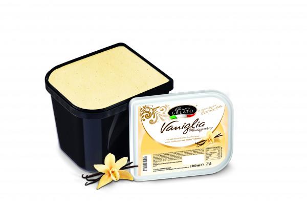 Vanille 2,5 Liter Glaceschale (glatt gestrichen)