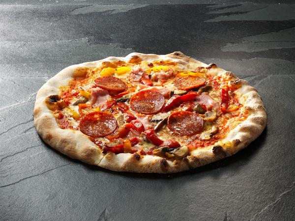Original Italienische Steinofenpizza Speziale