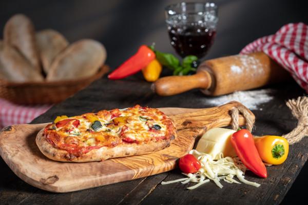 Di Padrone Pizza Panino gegrilltes Gemüse