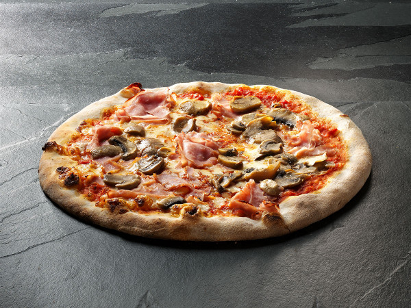 Original Italienische Steinofenpizza Schinken