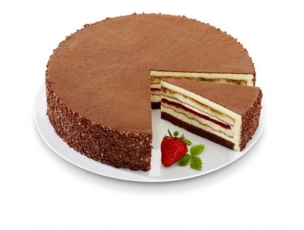 Tiramisu-Erdbeer-Torte