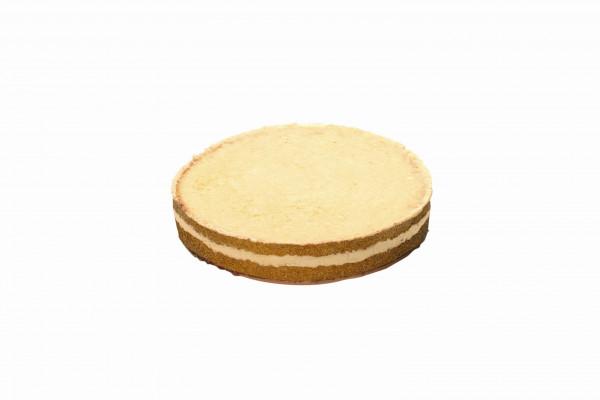 Tortenboden hell, gefüllt mit Vanille-Sahnecreme Premium Line