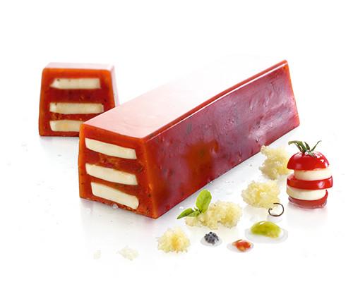 Tomaten-Mozzarella-Sülze