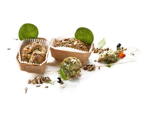 Quinoa-Spinat-Küchlein