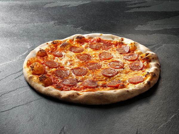 Original Italienische Steinofenpizza Diavolo