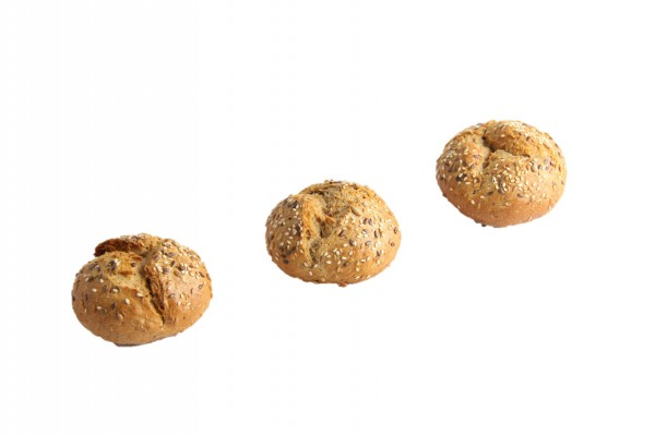 Mini-Kartoffelbrötchen mit Körnern