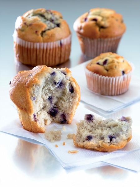 Blueberry-Muffin einzeln verpackt