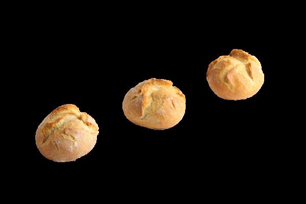 Mini-Kartoffelbrötchen hell