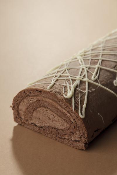 Schokoladen-Sahneroulade Premium Line