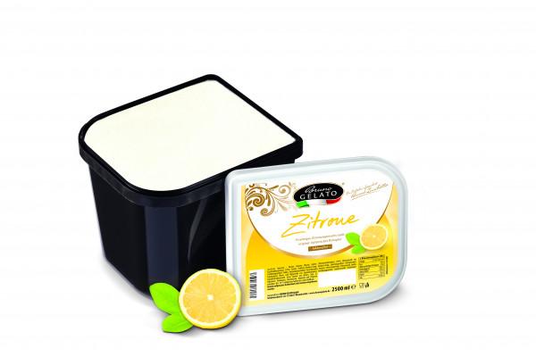 Zitrone 2,5 Liter Glaceschale (glatt gestrichen)