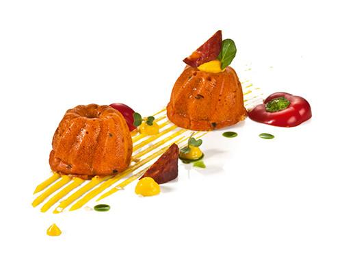 Mini-Gugelhupf Paprika-Chorizo